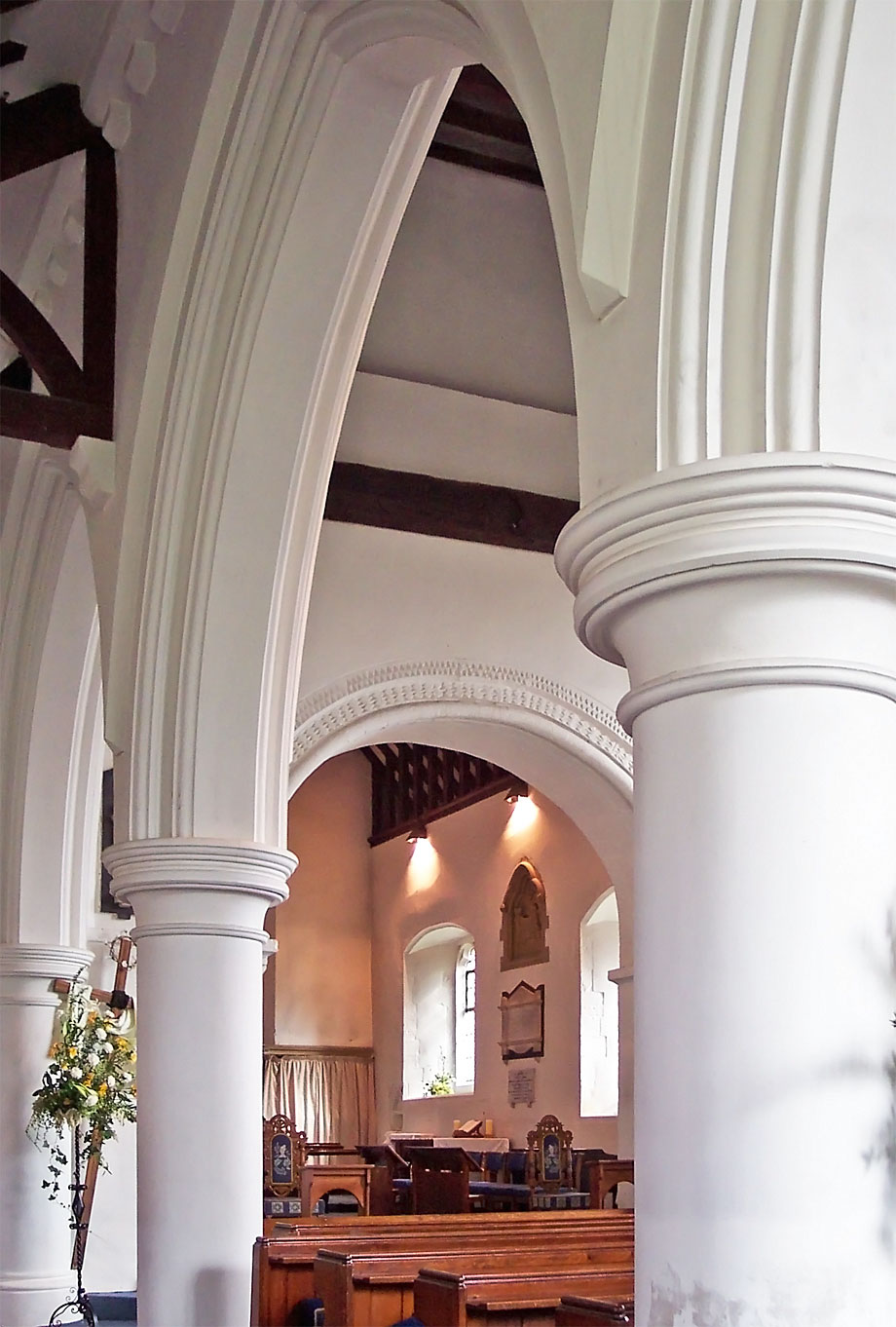 View from the North Aisle - St Thomas Bedhampton