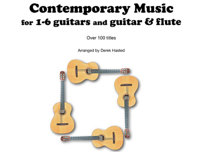 Buy Derek Hasted's guitar arrangements and compositions