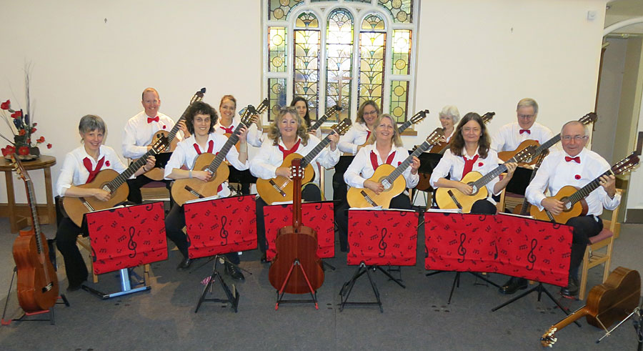 photo - hago - Hampshire Guitar Orchestra