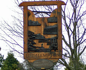 Bedhampton Village Sign