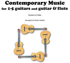 Derek Hasted Guitar Arrangements