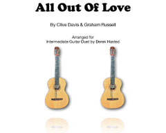All Out Of Love (Air Supply) arr Derek Hasted