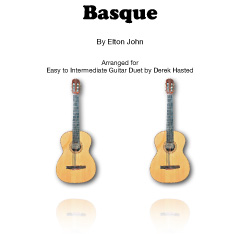 Basque (Elton John) arr Derek Hasted