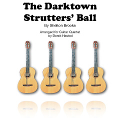 The Darktown Strutters' Ball arr Derek Hasted (4 guitars)