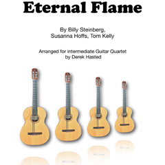Eternal Flame for Guitar Quartet
