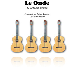 Le Onde (arranged for 4 guitars or large ensemble by Derek Hasted)