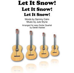 Let It Snow! for 4 guitars