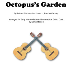 In An Octopus's Garden- a bouncy, fun piece for 2 guitars by Derek Hasted.