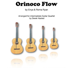 Orinoco Flow for Guitar Quartet
