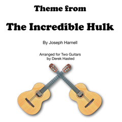 The Incredible Hulk for 2 guitars