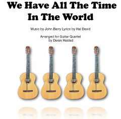 We Have All The Time In The World - 3 easy guitars.
