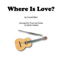 Where Is Love - Oliver - for Classical Guitar